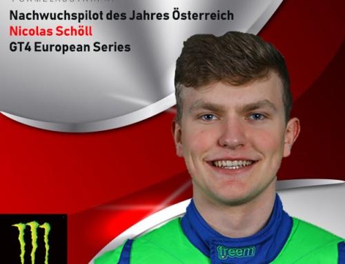 """Österreichs """"Nachwuchspilot des Jahres"""" fährt für Attempto Racing beim 24-Stunden-Rennen in Dubai"""