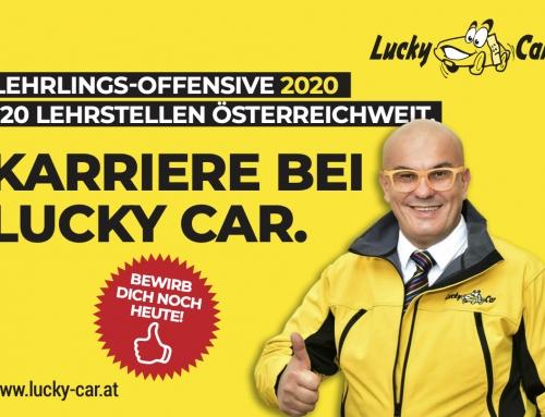 Lucky Car startet österreichweit größte Lehrlingsoffensive